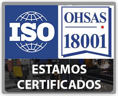 Estamos certificados